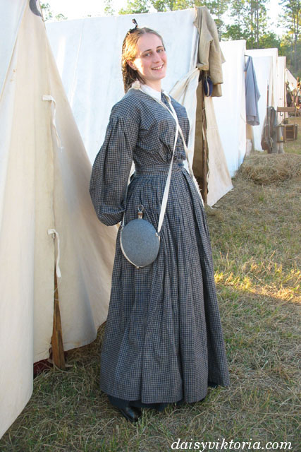 Grey Civil War Dress Faerie Queen Costuming