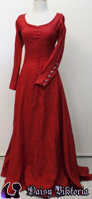 Blue Cotehardie – Faerie Queen Costuming